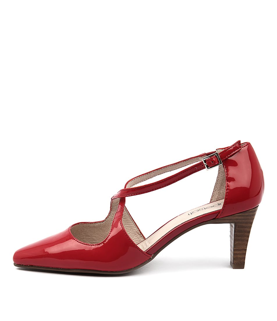 Supersoft Marnee Red Heeled Shoes