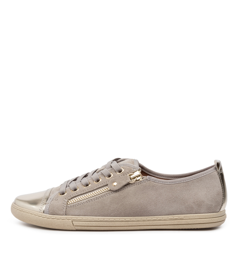 Buy Supersoft Alfie Su Light Grey Plat Sneakers online with free shipping