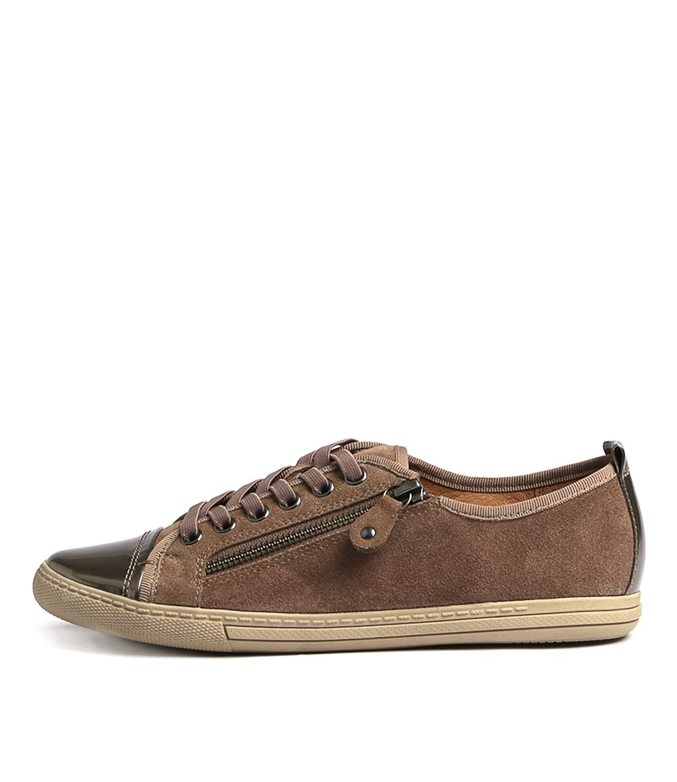 Supersoft Alfie Su Taupe Sneakers
