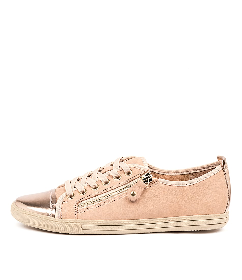 Buy Supersoft Alfie Su Blush Rose Gold Sneakers online with free shipping