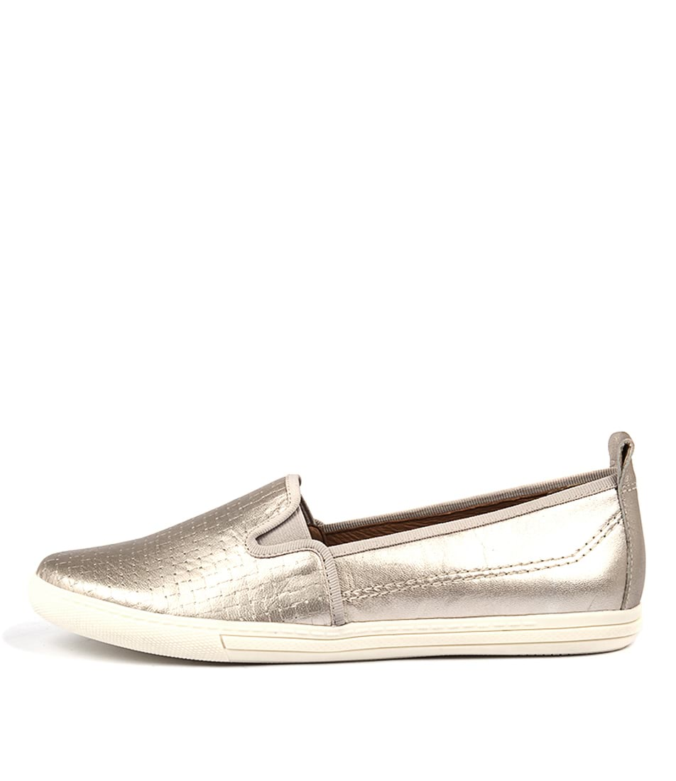 Supersoft Anakin2 Pewter Flat Shoes