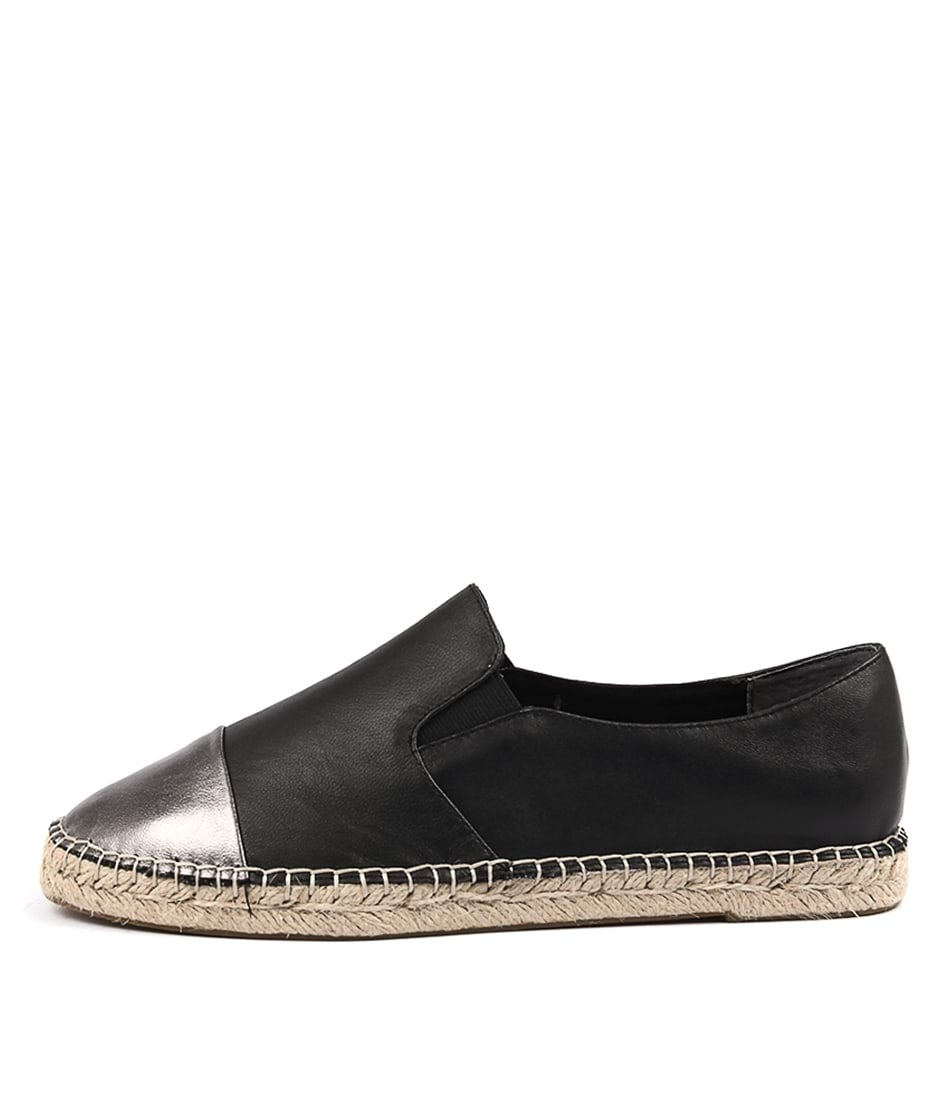 Supersoft Walker Black Gunmetal Casual Flat Shoes
