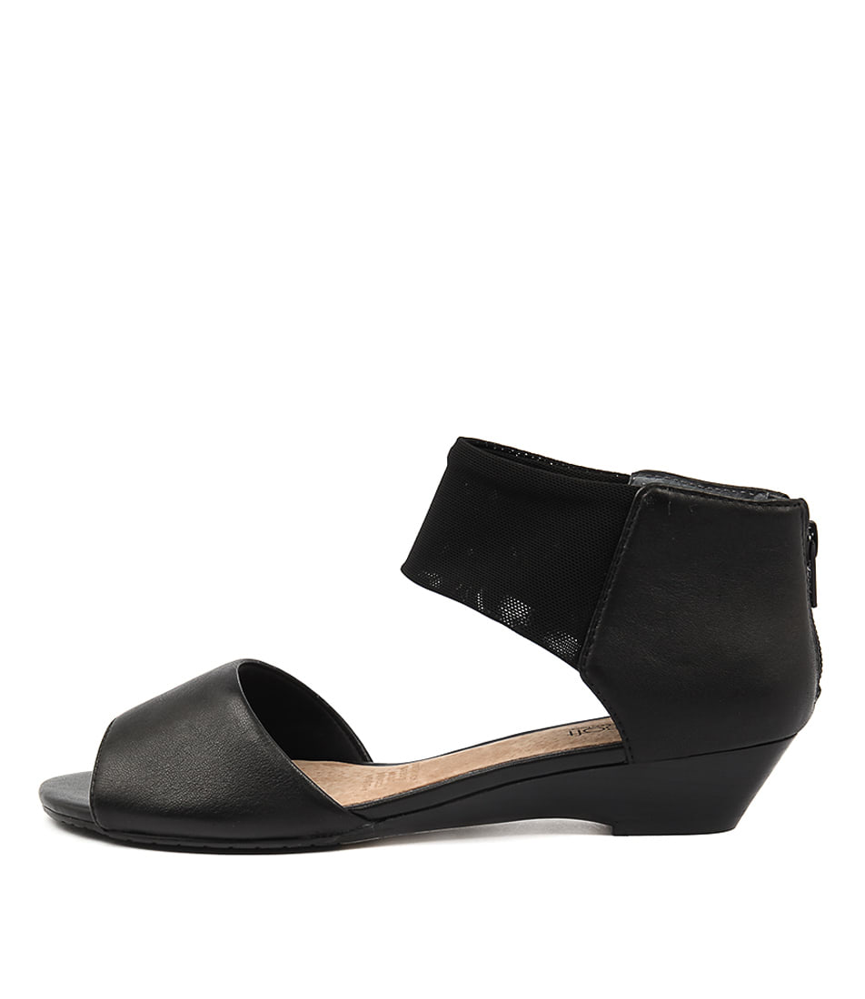 Supersoft Bernie Su Black Heeled Sandals