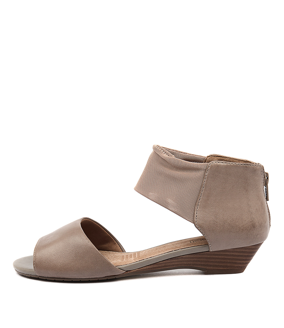 Supersoft Bernie Su Taupe Casual Heeled Sandals