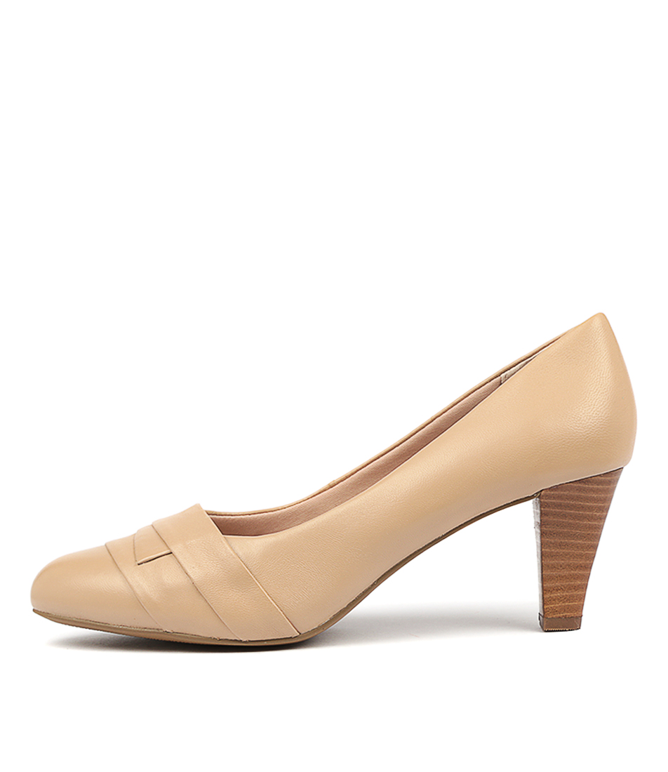 Buy Supersoft Janina Nude High Heels online with free shipping