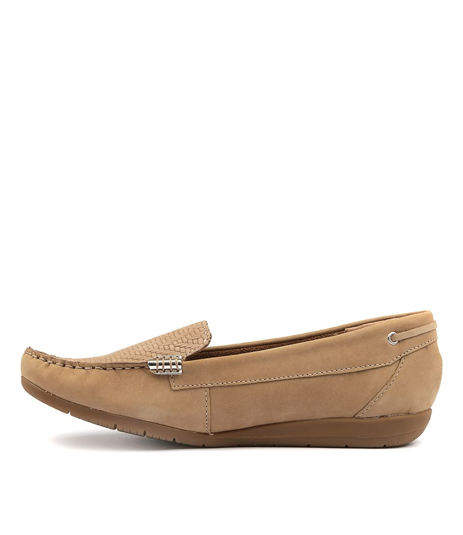 Supersoft France Oatmeal Flat Shoes