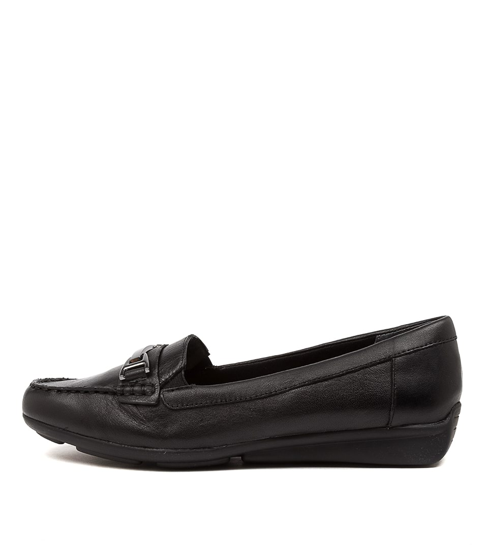 Buy Supersoft Lockney Black Flats online with free shipping