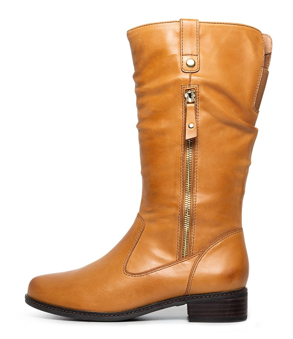 Buy Supersoft Pinto Su Tan Calf Boots online with free shipping