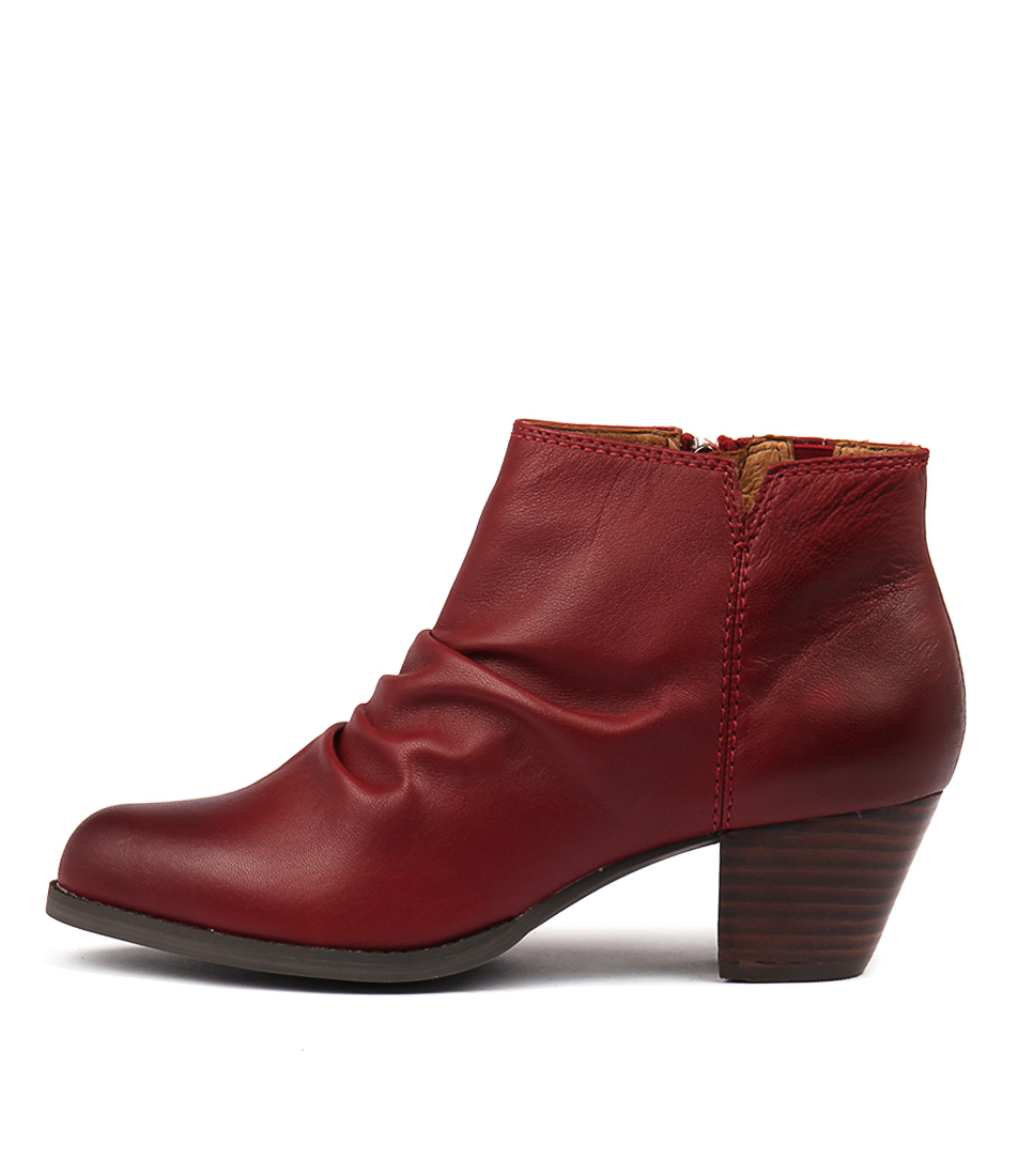 Buy Supersoft Tarryn Red Ankle Boots online with free shipping