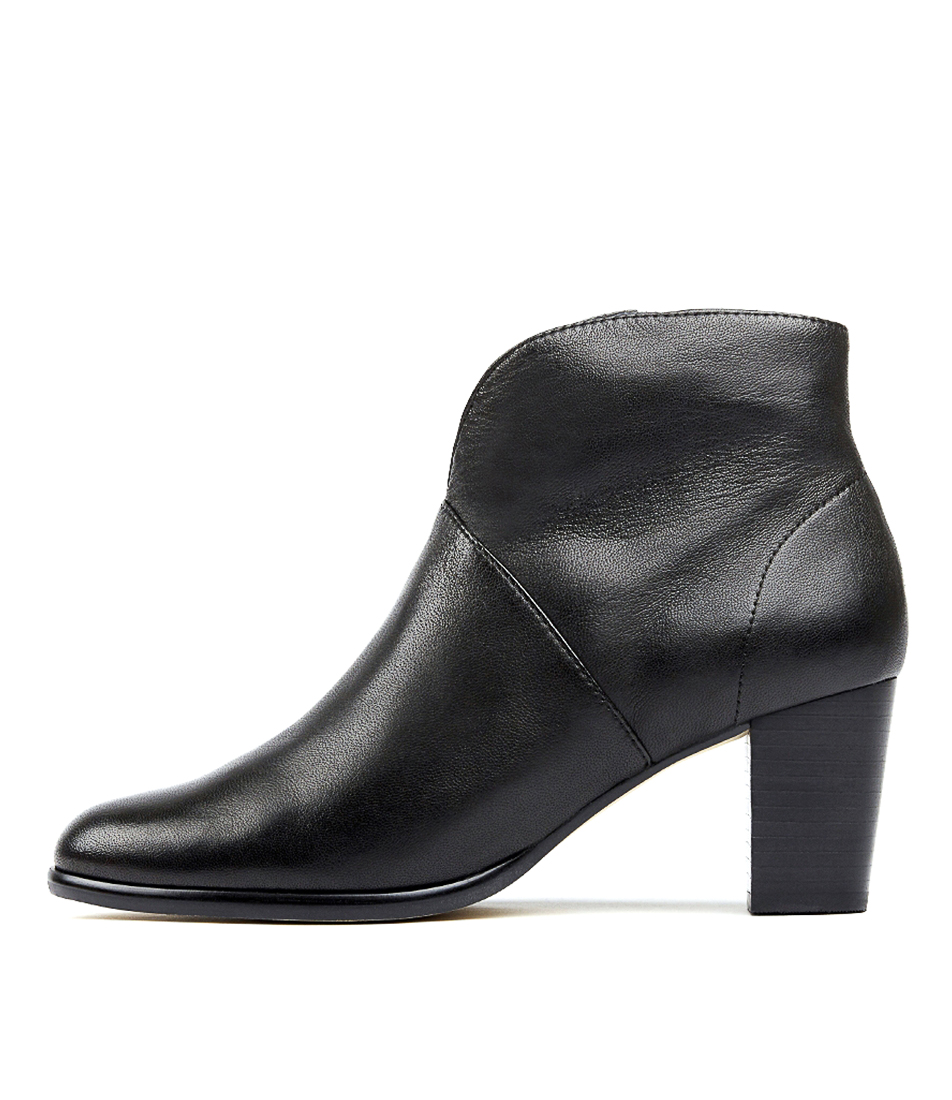 Buy Supersoft Christina Black Ankle Boots online with free shipping