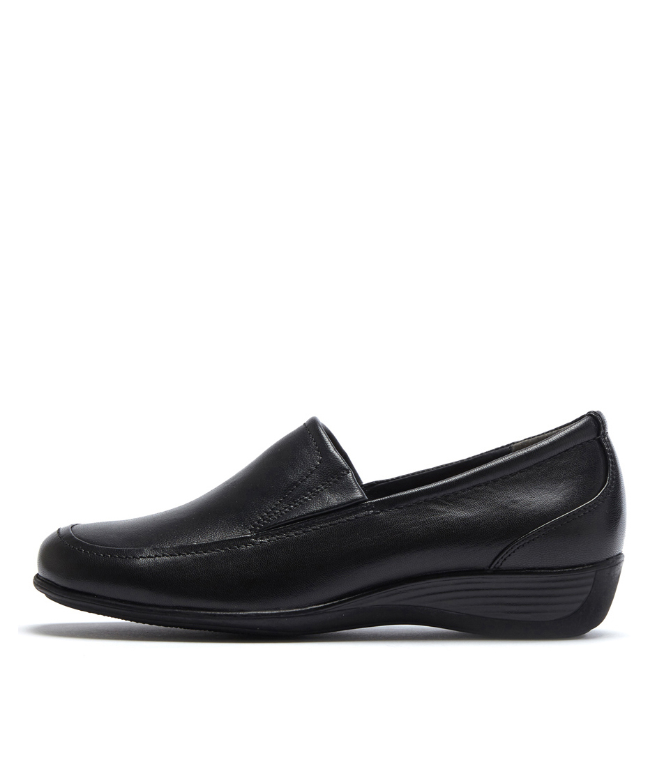 Buy Supersoft Phantom Black Flats online with free shipping