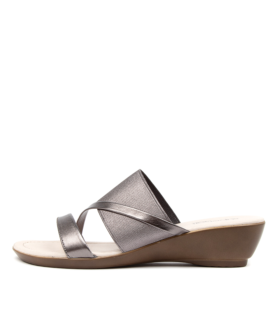 Buy Supersoft Penrose Gunmetal Heeled Sandals online with free shipping