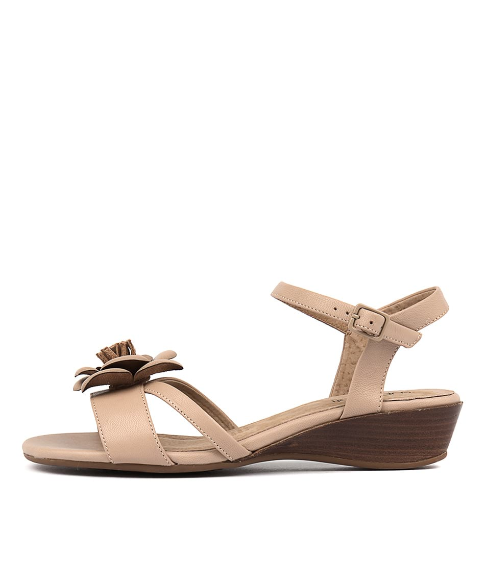 Supersoft Carson NudeFlat Sandals
