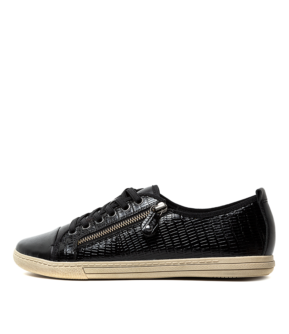 Buy Supersoft Alladin Black Sneakers online with free shipping