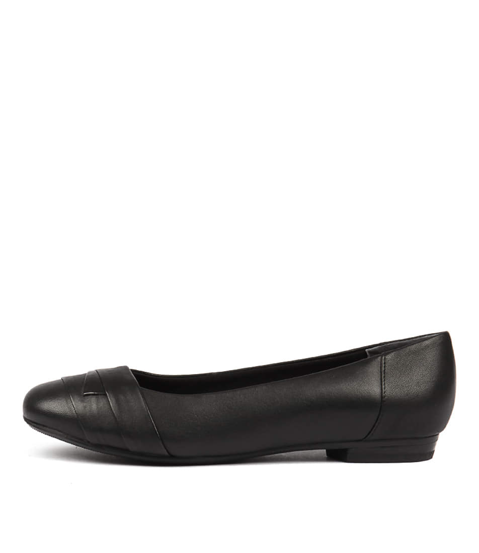 Buy Supersoft Claudea Black Flats online with free shipping