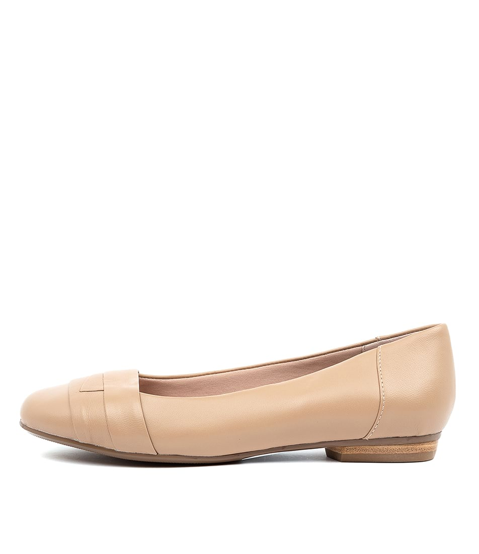 Buy Supersoft Claudea Nude Flats online with free shipping