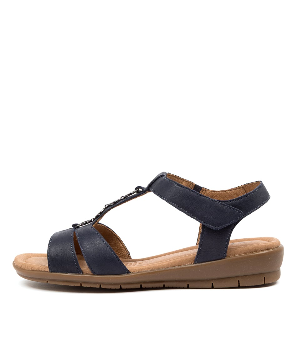 Buy Supersoft Ferraro Navy E Heeled Sandals online with free shipping