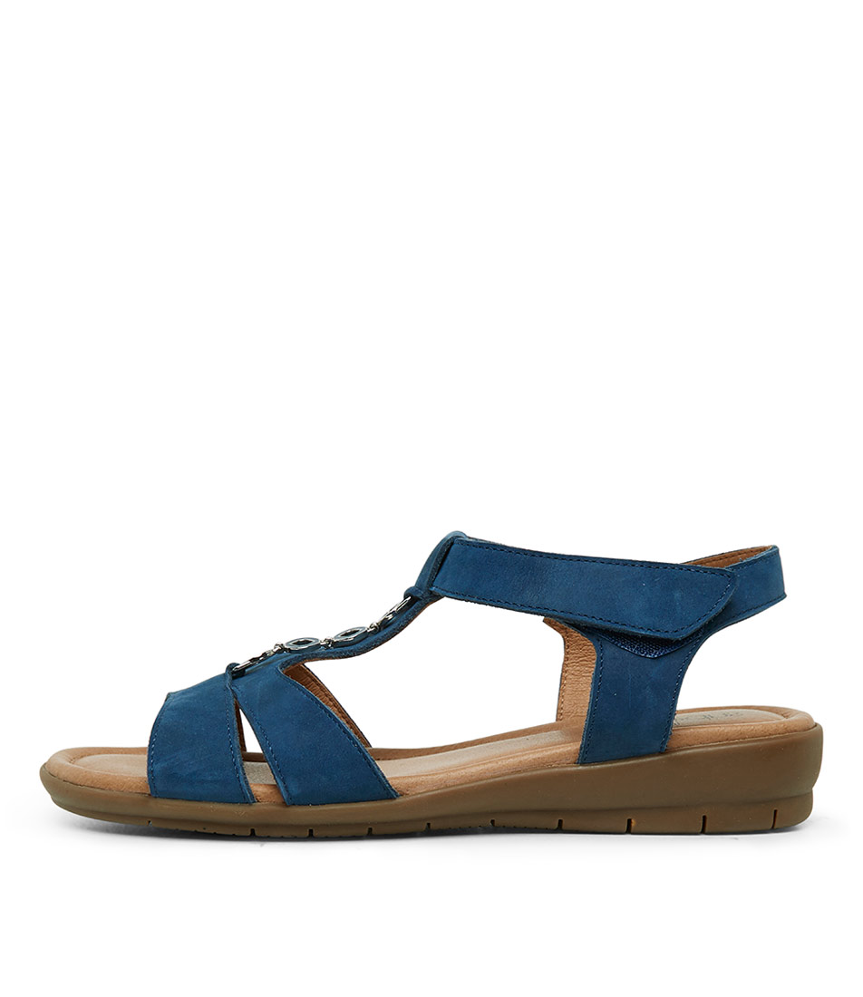Buy Supersoft Ferraro Denim Flat Sandals online with free shipping