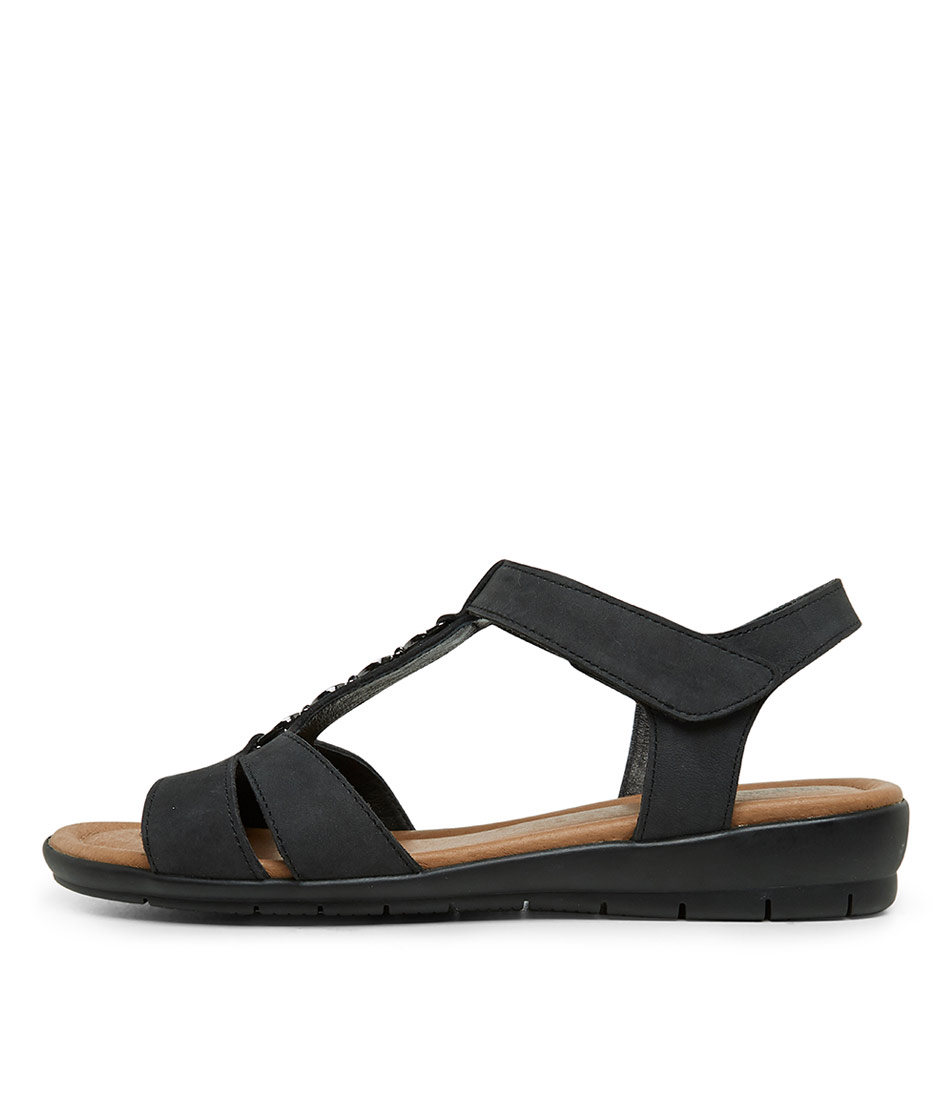 Buy Supersoft Ferraro Charcoal Heeled Sandals online with free shipping