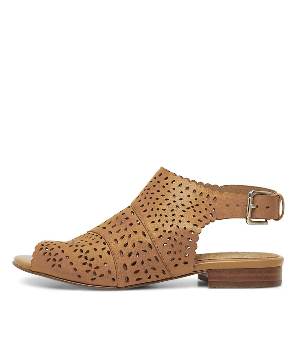 Buy Supersoft Elezar Tan Flat Sandals online with free shipping