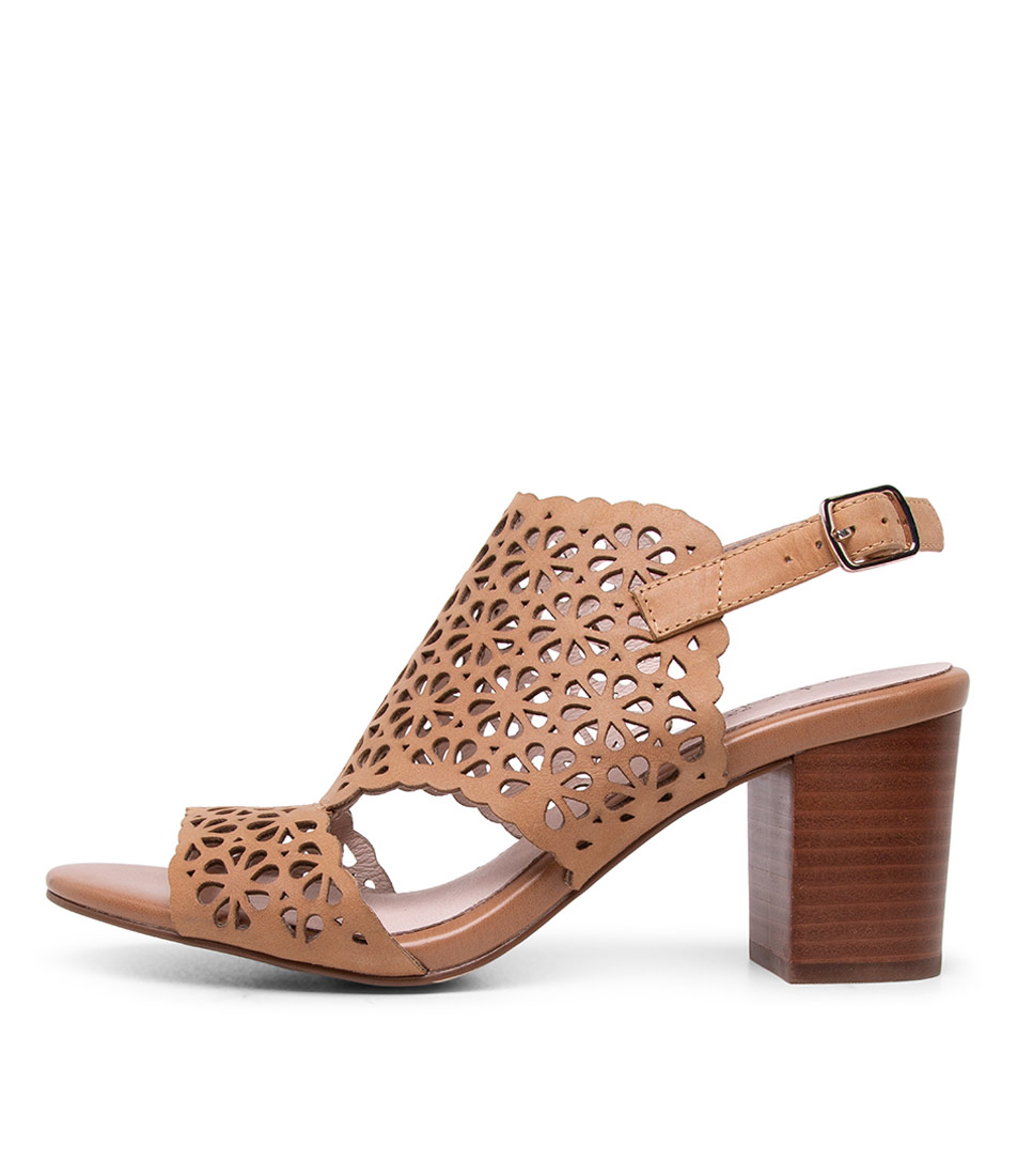 Buy Supersoft Nylah Tan Heeled Sandals online with free shipping