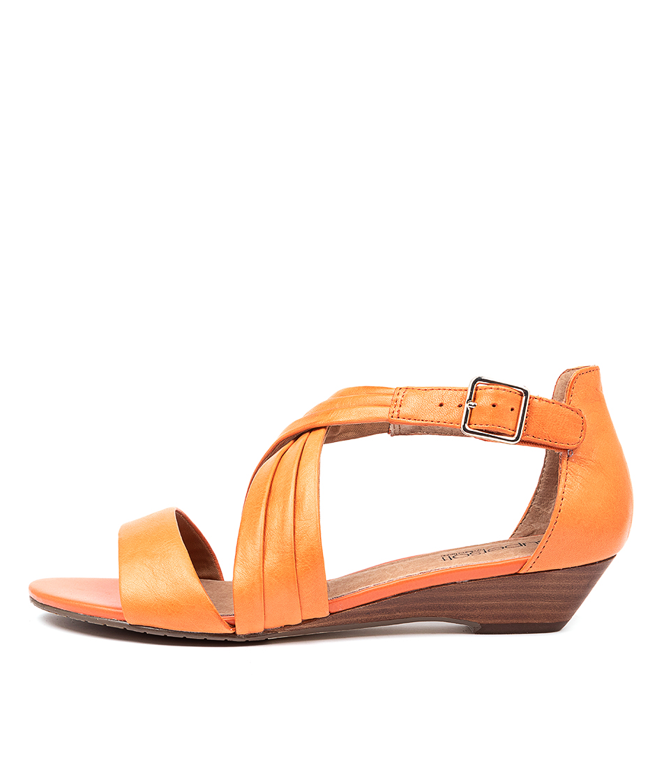 Buy Supersoft Baelon Orange Sandals Flat Sandals online with free shipping