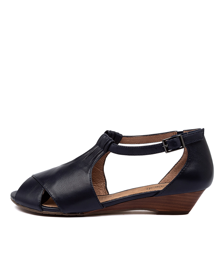 Buy Supersoft Bono2 Navy Heeled Sandals online with free shipping