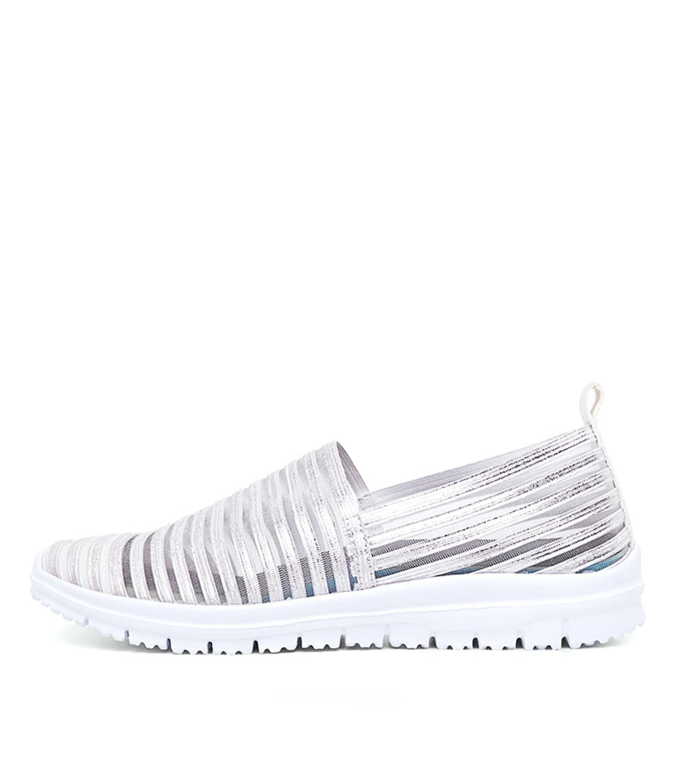 Buy Supersoft Camero Silver Sneakers online with free shipping