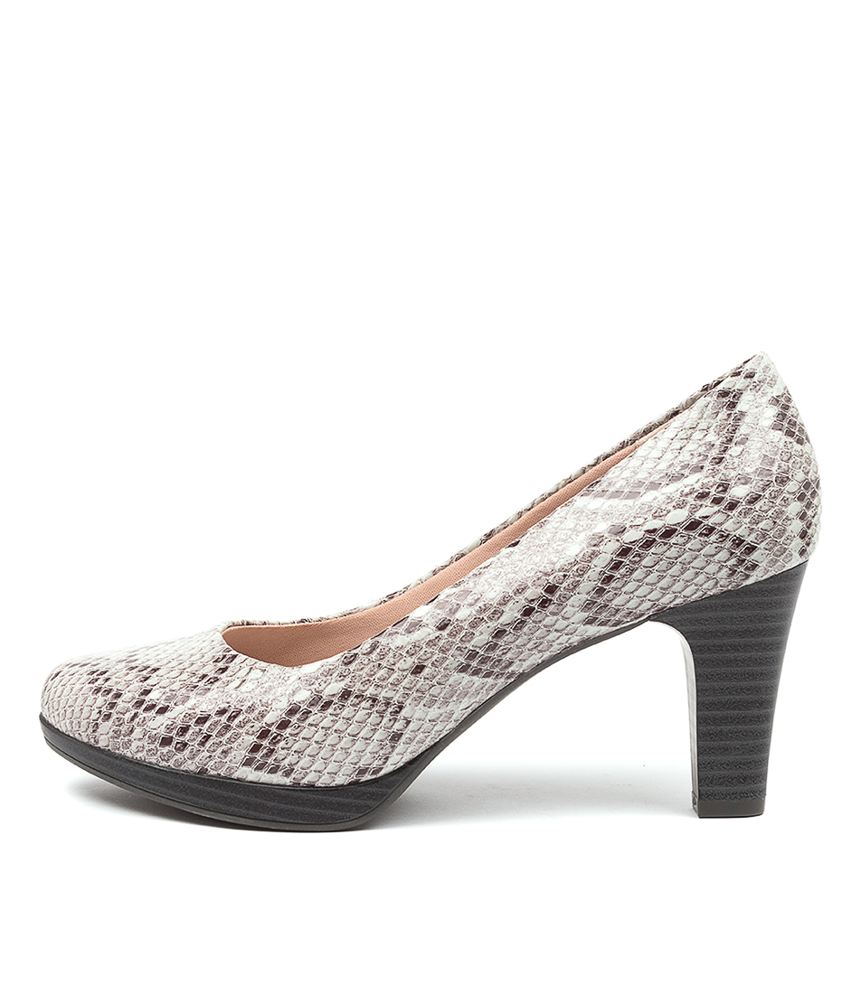 Buy Supersoft Serina Su White Multi High Heels online with free shipping