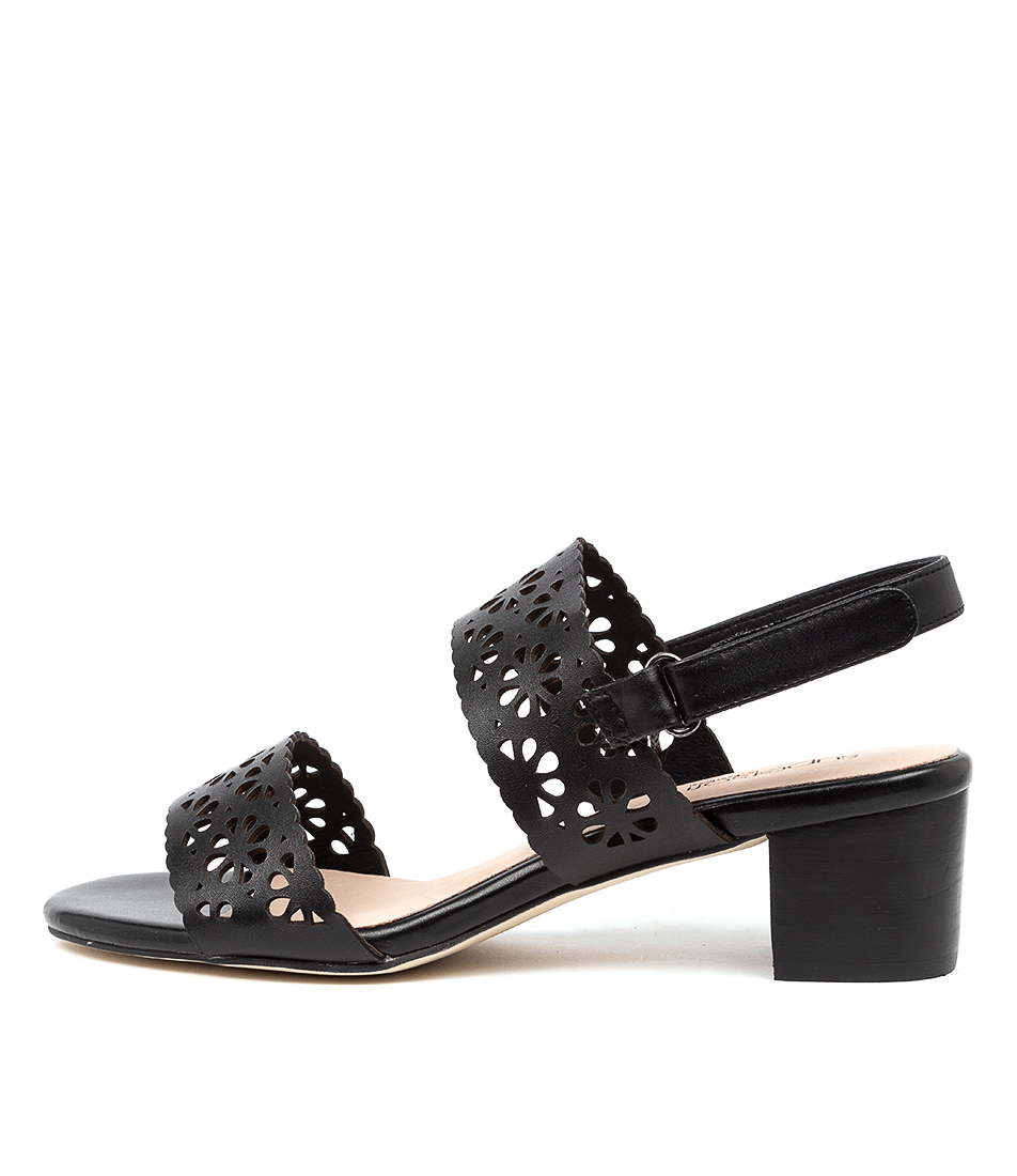 Buy Supersoft Cacey Su Black Heeled Sandals online with free shipping