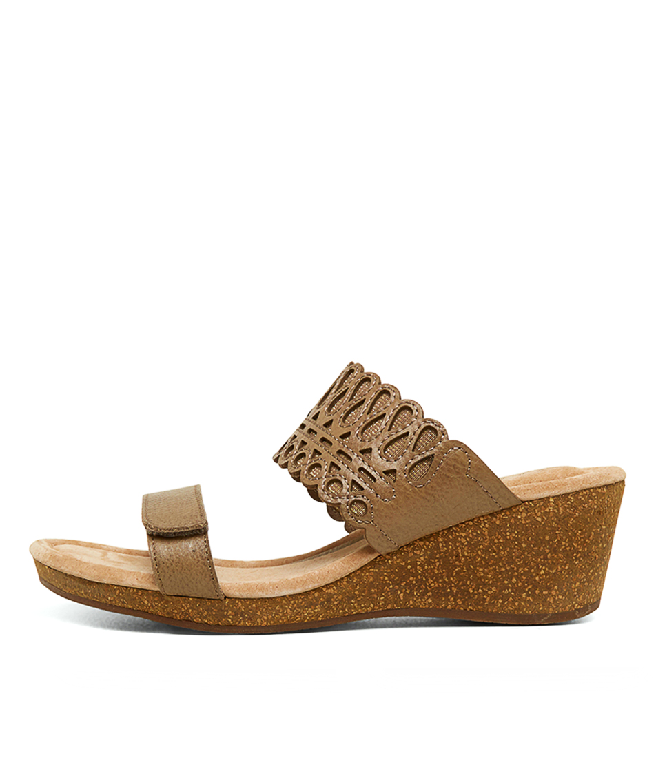 Buy Supersoft Bellamy Su Oatmeal Heeled Sandals online with free shipping