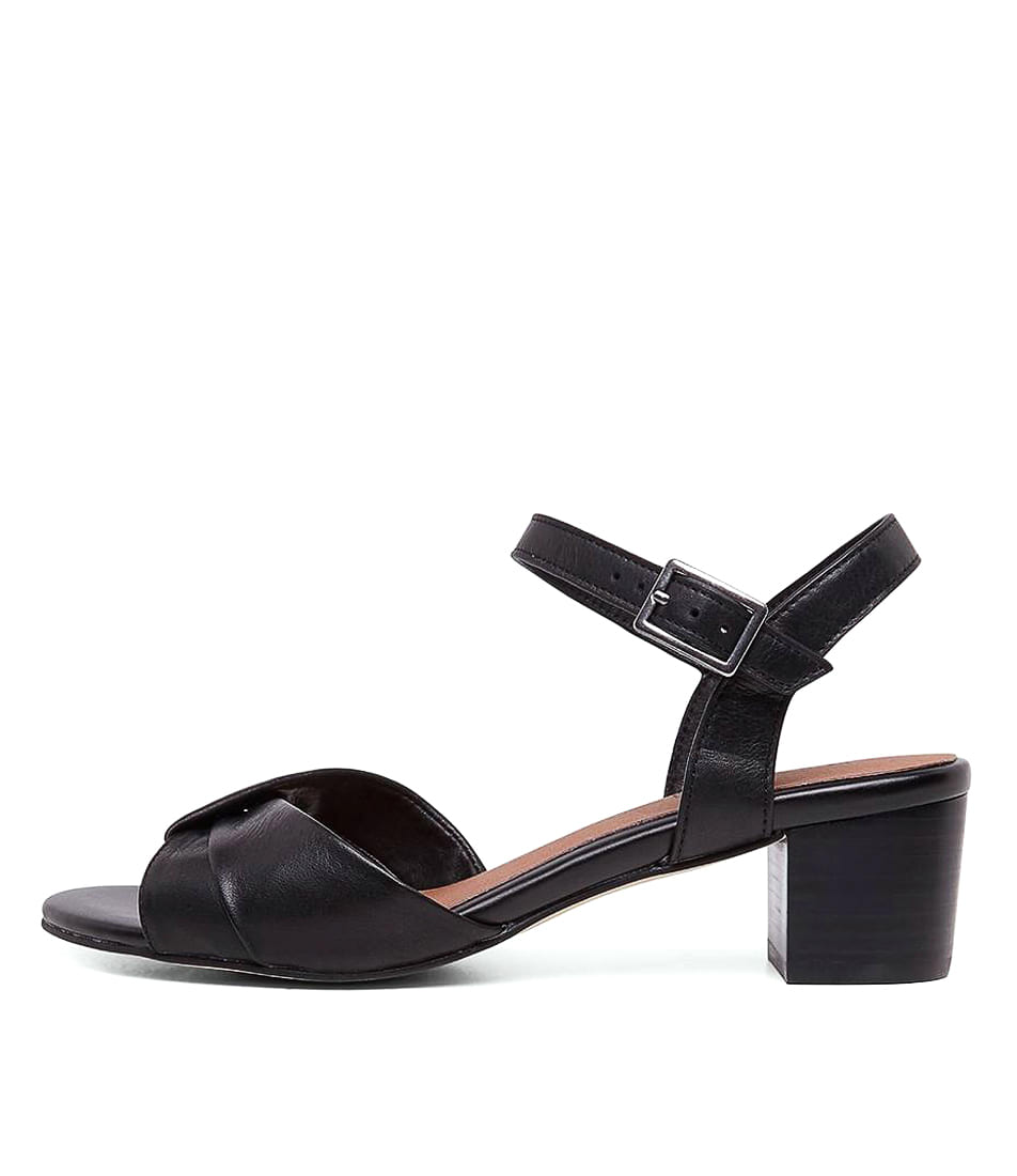 Buy Supersoft Cleantha2 Su Black Heeled Sandals online with free shipping