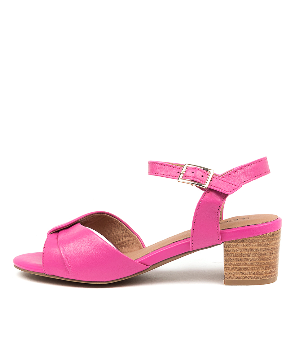 Buy Supersoft Cleantha2 Su Fuchsia Heeled Sandals online with free shipping