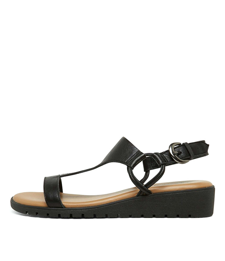 Buy Supersoft Haraiki Su Black Heeled Sandals online with free shipping