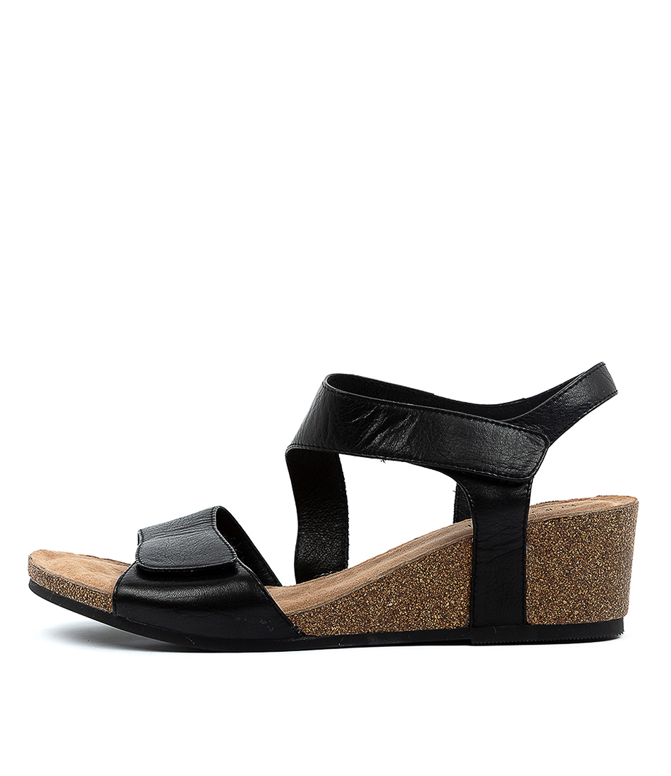 Buy Supersoft Reavis Su Black Heeled Sandals online with free shipping