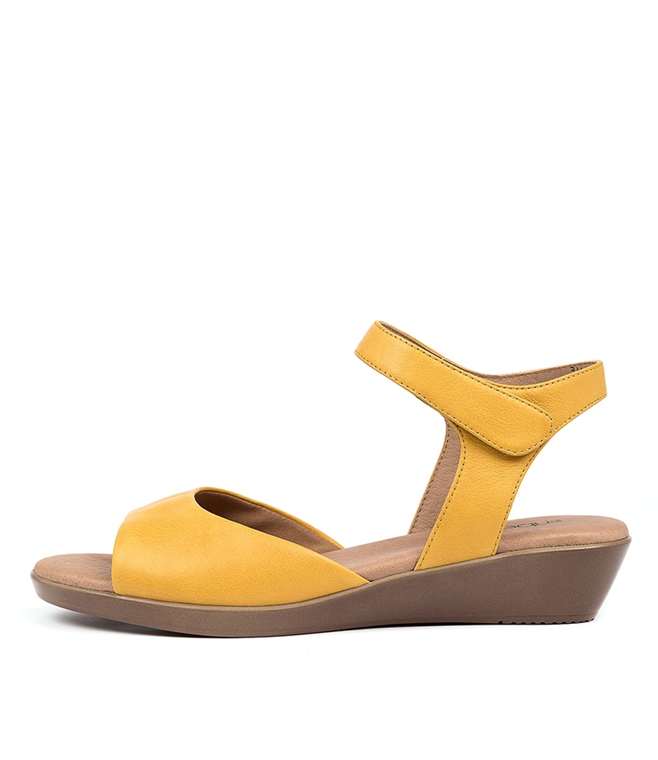 Buy Supersoft Vanstone Su Yellow Sandals online with free shipping