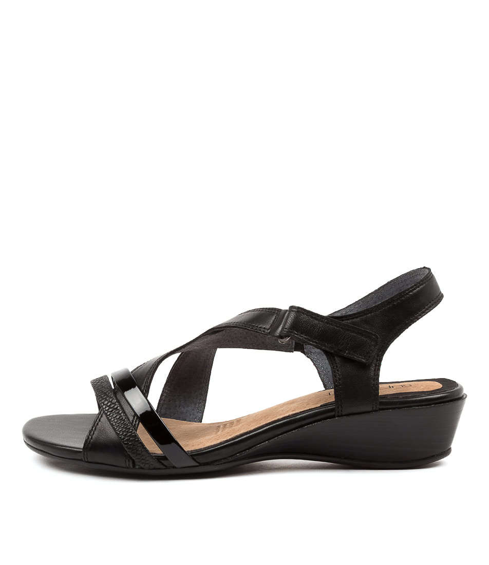 Buy Supersoft Cortina Su Black Heeled Sandals online with free shipping