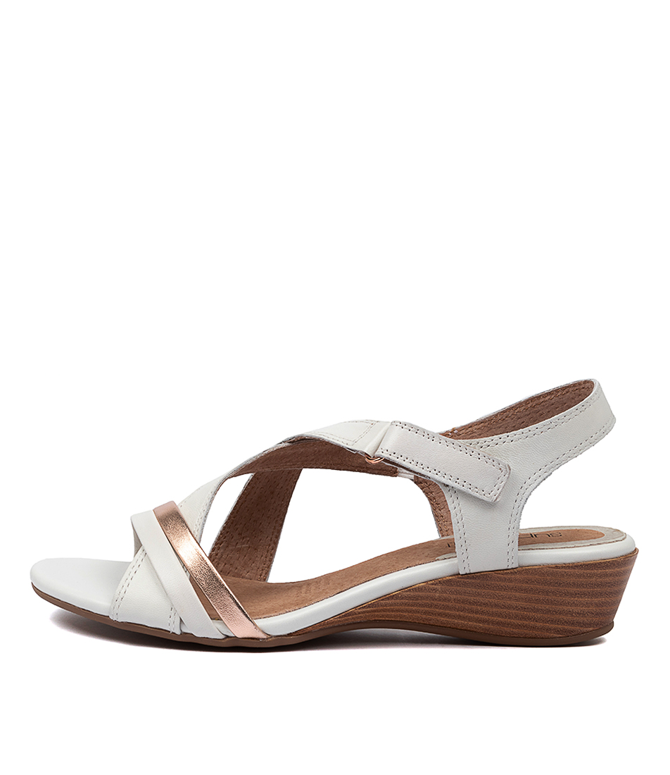 Buy Supersoft Cortina Su Ivory Rose Gold Heeled Sandals online with free shipping