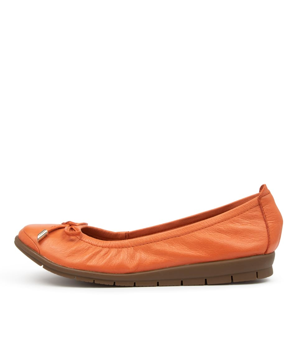 Buy Supersoft Flex2 Su Orange Flats online with free shipping