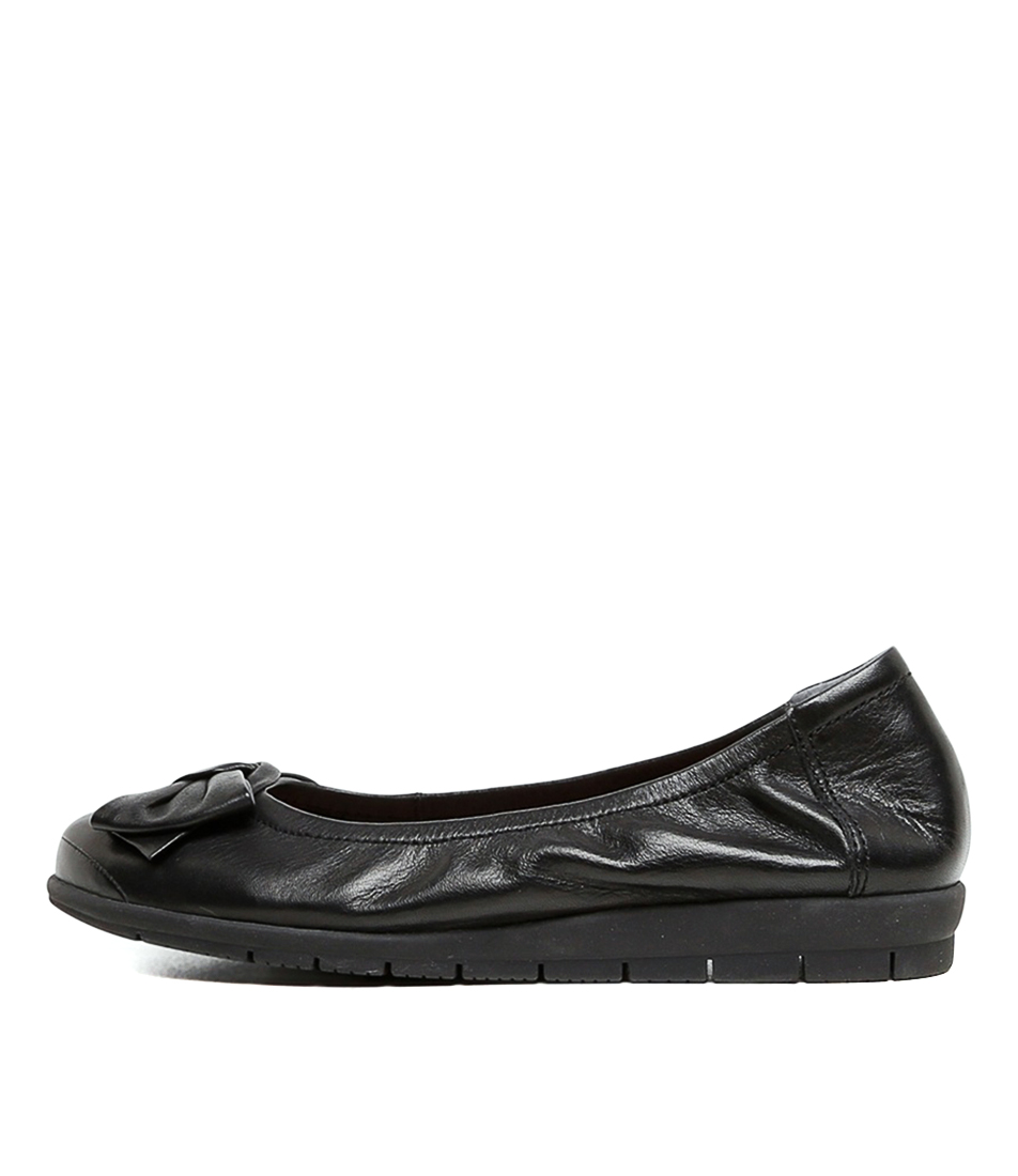 Buy Supersoft Fransisco2 Su Black Flats online with free shipping