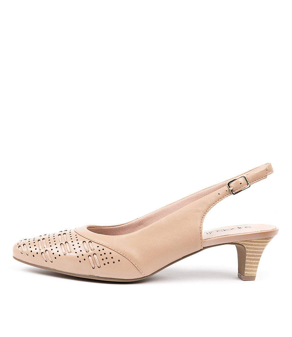 Buy Supersoft Laveta Su Nude High Heels online with free shipping