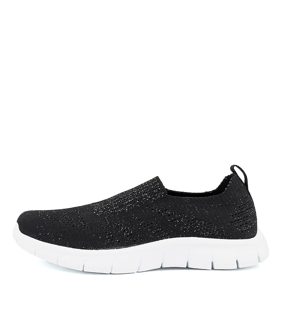 Buy Supersoft Baddley Su Black Metallic Sneakers online with free shipping