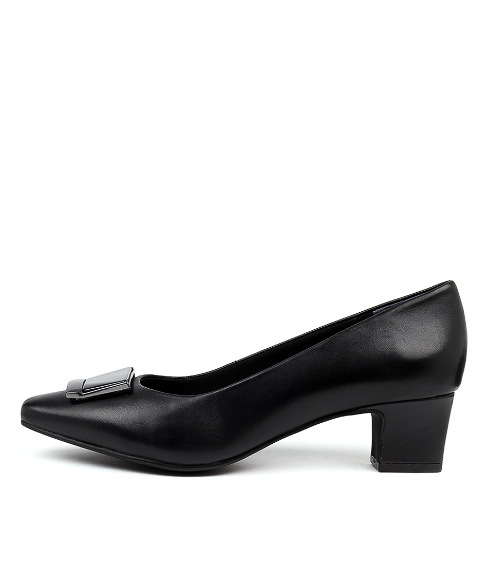 Buy Supersoft Ruthann Su Black High Heels online with free shipping