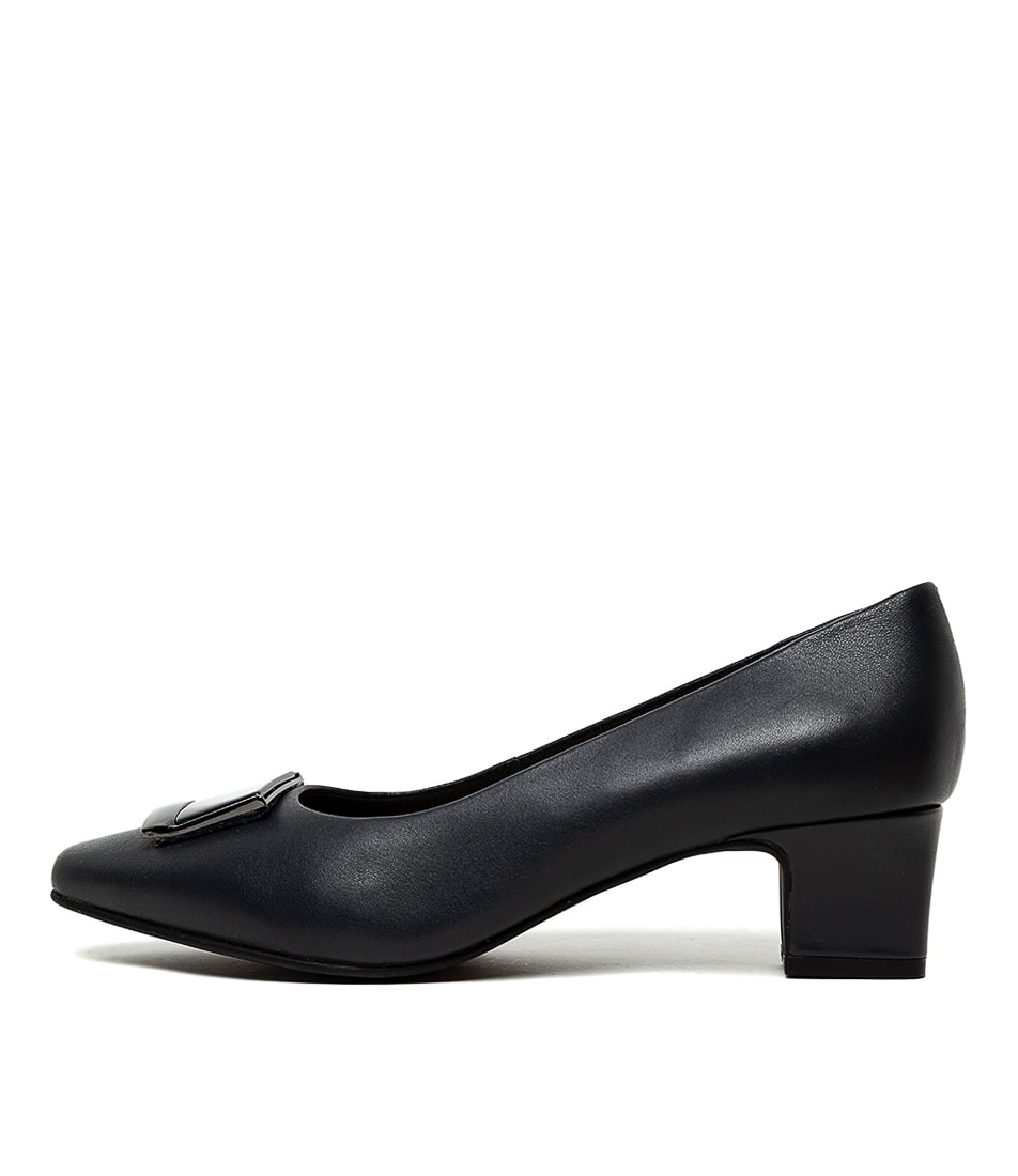 Buy Supersoft Ruthann Su Navy High Heels online with free shipping