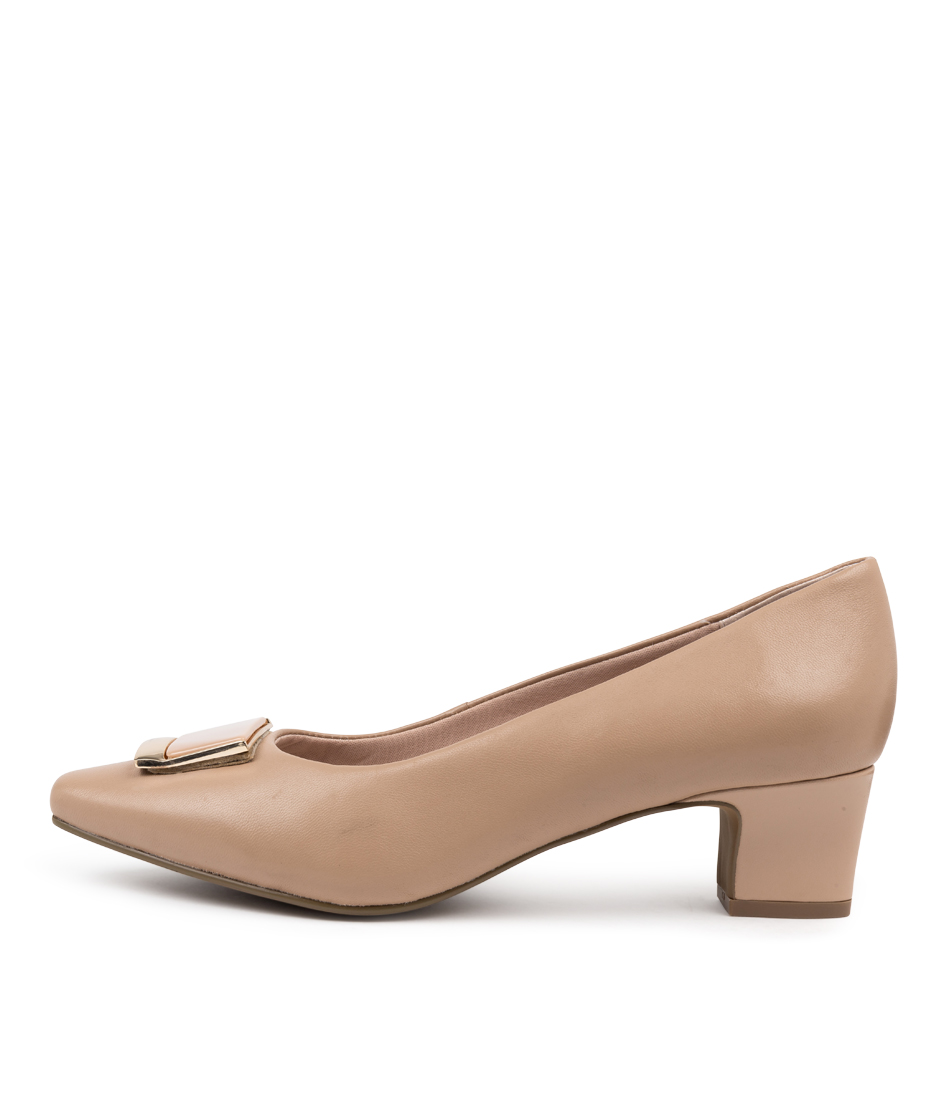 Buy Supersoft Ruthann Su Nude High Heels online with free shipping