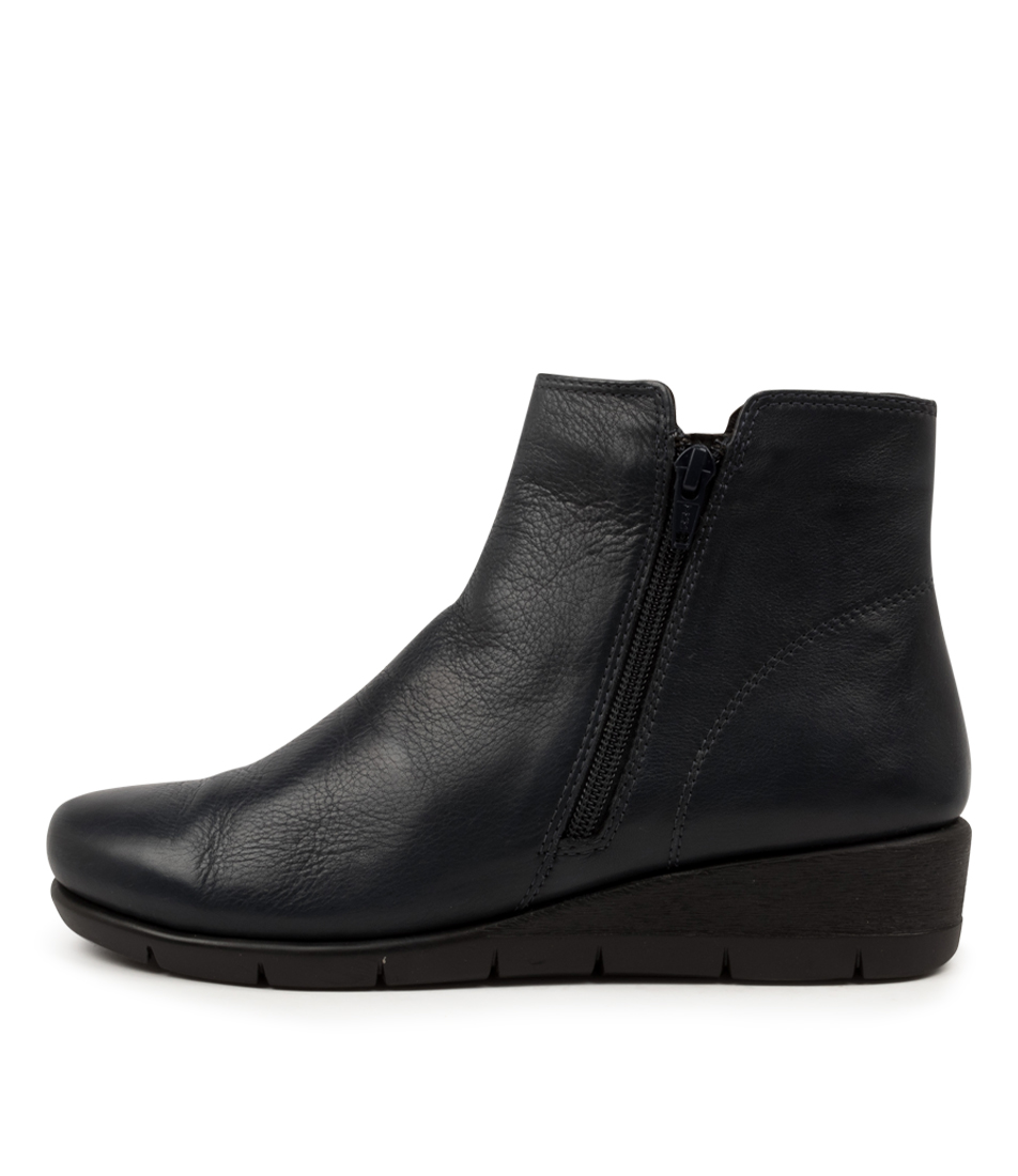 Buy Supersoft Mysaria Su Dk Navy Comfort Ankle Boots online with free shipping