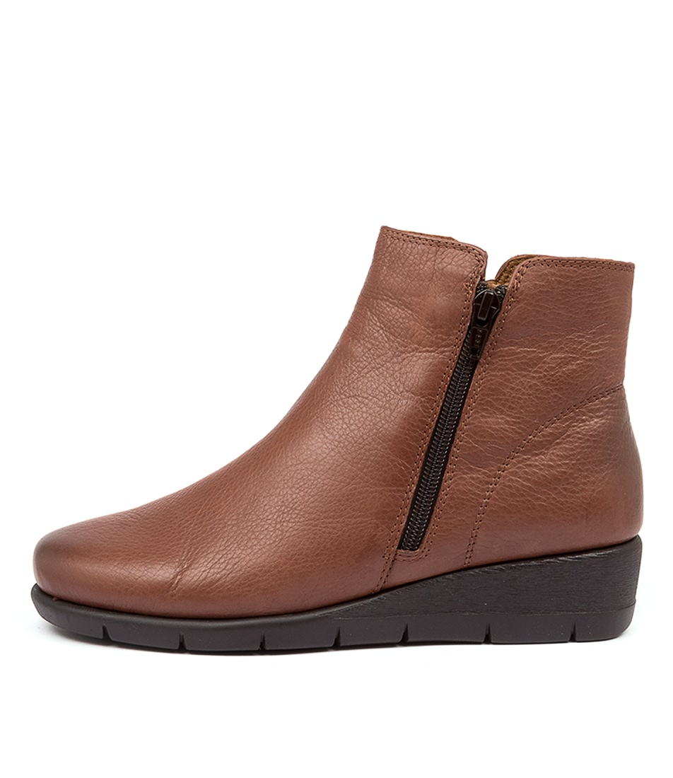 Buy Supersoft Mysaria Su Brandy Ankle Boots online with free shipping