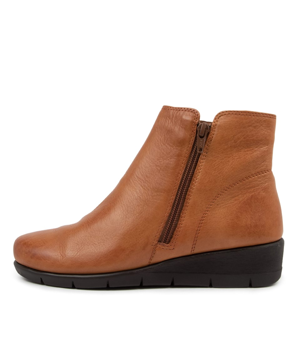 Buy Supersoft Mysaria Su New Tan Ankle Boots online with free shipping
