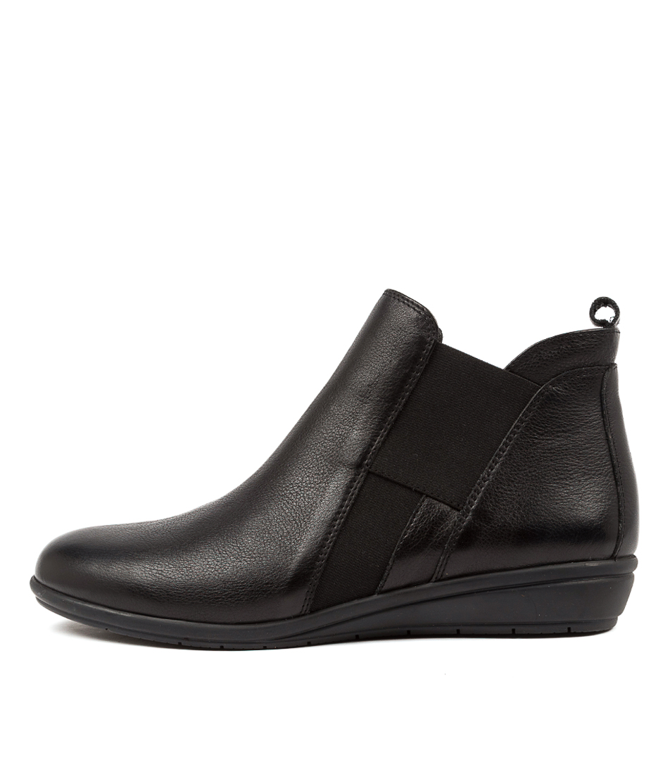 Buy Supersoft Feivel Su Black Ankle Boots online with free shipping