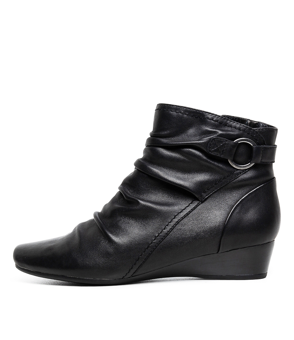 Buy Supersoft Reuben Su Black Ankle Boots online with free shipping